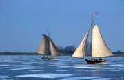 19th c. ice sailing